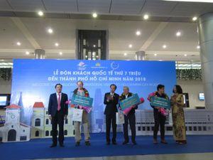 Vị khách thứ 7 triệu đến Thành phố Hồ Chí Minh