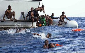 170 người mất tích trong 2 vụ chìm thuyền ở Địa Trung Hải