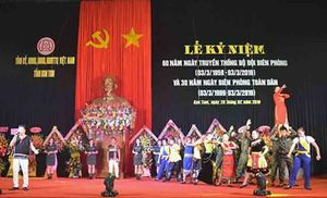 Kon Tum tổ chức Lễ kỷ niệm 60 năm Ngày Truyền thống BĐBP và 30 năm Ngày Biên phòng toàn dân