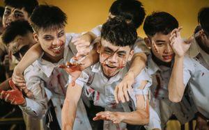 Teen Hà Nội gây tranh cãi khi hóa trang thành zombie chụp ảnh kỷ yếu