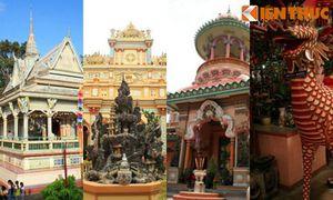 Chiêm ngưỡng ngôi chùa có kiến trúc kỳ lạ nổi tiếng Nam Bộ