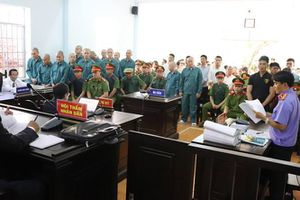 Y án 13 bị cáo gây rối trật tự công cộng ở Bình Thuận