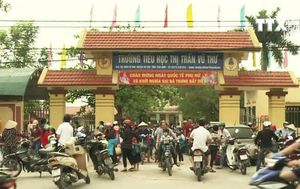 Hàng loạt học sinh nghỉ học ở Thái Bình do sợ lây bệnh từ bạn đã đi học lại