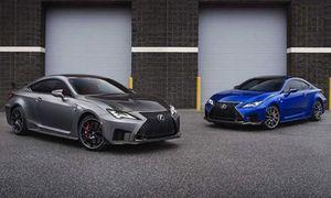 Lexus RC F 2020 mới chốt giá bán từ 1,5 tỷ đồng