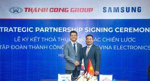 Samsung và Thành Công Group ký kết hợp tác chiến lược