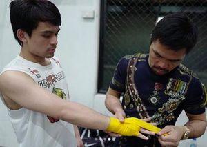 Quyền Anh: Con trai Pacquiao nối nghiệp cha, thắng knock-out ngay trận đầu tiên