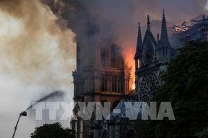 Vụ cháy Nhà thờ Đức Bà Paris: Cập nhật thông tin về thiệt hại