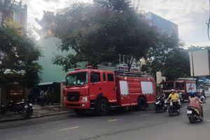 Cháy ở văn phòng đăng ký đất đai Bình Định