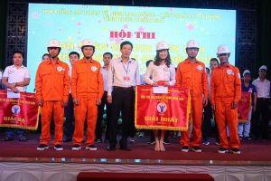 Công ty Điện lực đoạt giải nhất Hội thi An toàn vệ sinh viên giỏi tỉnh Thừa Thiên Huế năm 2019