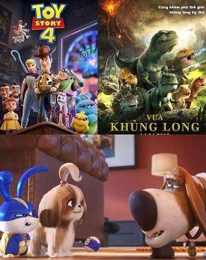 Phim hoạt hình chiếu rạp hay nhất tháng 6: Tâm điểm Toy story 4, Đẳng cấp thú cưng...