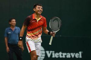Lý Hoàng Nam lọt vào bán kết đôi nam giải quần vợt Men's Futures Hong Kong