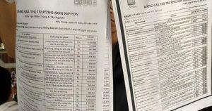 Sơn Nippon ở Nha Trang bị tố 'chặt chém' khách hàng