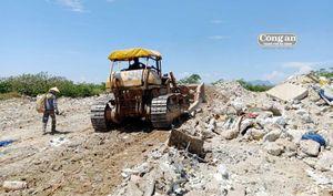 Vấn nạn đổ trộm rác thải, xà bần ở Hòa Xuân: Gian nan phòng, chống