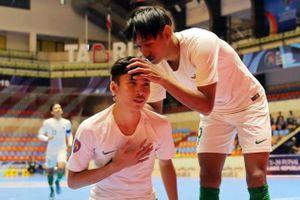 Việt Nam thua Indonesia tại giải U20 futsal châu Á