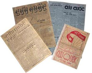 Nhà báo Xuân Thủy và báo Cứu Quốc