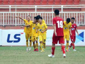 Giải U15 Quốc gia 2019: HAGL thua Thanh Hóa, SLNA đè bẹp TP.HCM