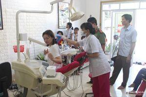 Đình chỉ hoạt động 3 phòng khám nha khoa tại Quỳnh Lưu