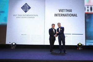 Tập đoàn Việt Thái Quốc Tế nhận giải thưởng 'Nơi làm việc tốt nhất Châu Á 2019'