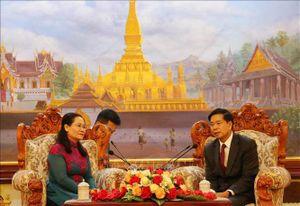 TP Hồ Chí Minh và thủ đô Viêng Chăn tăng cường hợp tác