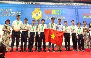 Học sinh Thủ đô xuất sắc giành Huy chương Vàng cuộc thi Phát minh và sáng chế thế giới