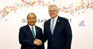 Thủ tướng Australia Scott Morrison bắt đầu thăm chính thức Việt Nam