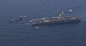 Vì sao tàu sân bay Mỹ 'không dám' tiến vào eo biển Hormuz suốt từ tháng Năm?
