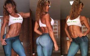 'Đường cong' nóng bỏng của mỹ nữ 6 múi, siêu vòng ba khiến sao Barcelona bỏ vợ
