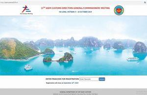 Hải quan Việt Nam: Chuẩn bị tốt nhất cho hội nghị ASEM 13