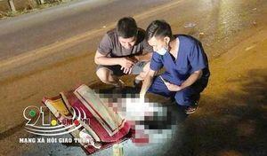 Nam Định: Đang đạp xe sang đường, 2 bà cháu bị xe khách tông tử vong