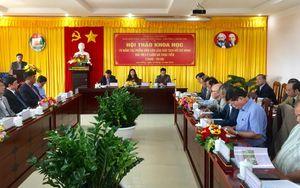 Hội thảo 70 năm tác phẩm 'Dân vận' của Chủ tịch Hồ Chí Minh