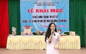 Tuyên Quang:hưởng ứng 'Tuần lễ học tập suốt đời'.