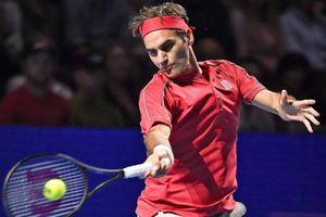 Federer thắng tốc hành trong trận đấu thứ 1.500