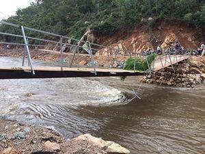 Vụ cầu sập khiến hơn 300 hộ dân bán đảo cô lập: Sẽ xây cầu ngay trong năm 2019