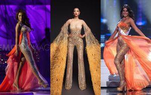 Số phận quá phũ của loạt Hoa hậu chọn jumpsuit đi thi thố, Kiều Loan có vượt ải thành công?