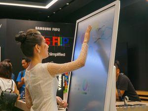 Samsung ra mắt bảng tương tác Flip 2: kết nối đa dạng, tương tác trực quan, giá từ 59 triệu