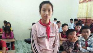 Nhặt được 17 triệu đồng, nữ sinh nghèo Nghệ An trả cho người đánh mất