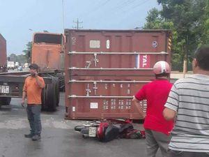 Hiểm họa từ thùng container không gài chốt
