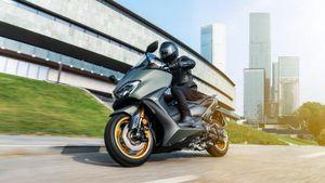Yamaha TMax 2020 được trang bị động cơ dung tích 560 cc