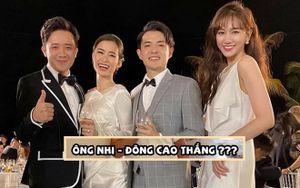 Hari Won đăng clip 'vạch trần' Trấn Thành chúc mừng Đông Nhi - Ông Cao Thắng đến… líu cả lưỡi