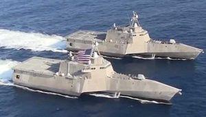Chiến hạm Mỹ không chạy được nếu thiếu Nga và Trung Quốc!