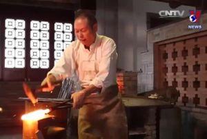 Khôi phục kỹ thuật luyện sắt có từ cách đây 2.000 năm