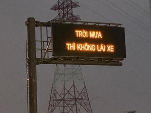 Cao tốc Long Thành 'Trời mưa thì không lái xe': VEC E chơi lạ... muốn tắc đường?