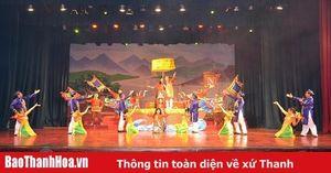 Báo cáo tổng duyệt chương trình nghệ thuật 'Hương sắc quê Thanh'