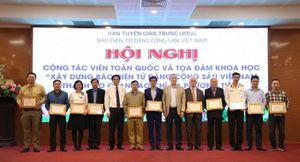 Không ngừng đổi mới, xây dựng Báo điện tử Đảng cộng sản Việt Nam thành cơ quan báo chí truyền thông đa phương tiện