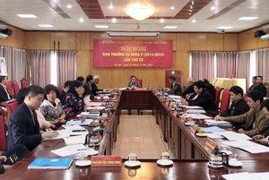 Hội nghị Ban Thường vụ VUFO khóa V lần thứ XII thông qua nhiều tài liệu quan trọng