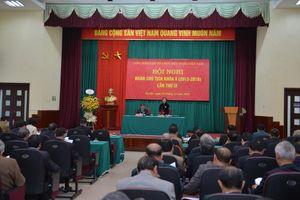 Đoàn Chủ tịch VUFO thống nhất công tác tổ chức Đại hội đại biểu toàn quốc lần thứ VI