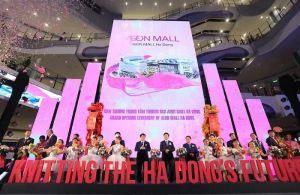 Trung tâm thương mại Aeon Mall Hà Đông chính thức khai trương