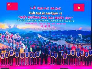 Khai mạc Giải Đua xe đạp Quốc tế Lào Cai 2019