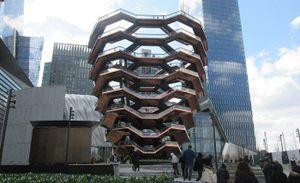 Kiến trúc vô tiền khoáng hậu trong 'tháp Eiffel của New York'
