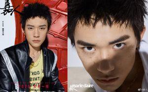 Dịch Dương Thiên Tỉ thử thách tạo hình chấm tàn nhang với kiểu tóc 'back to 90s'